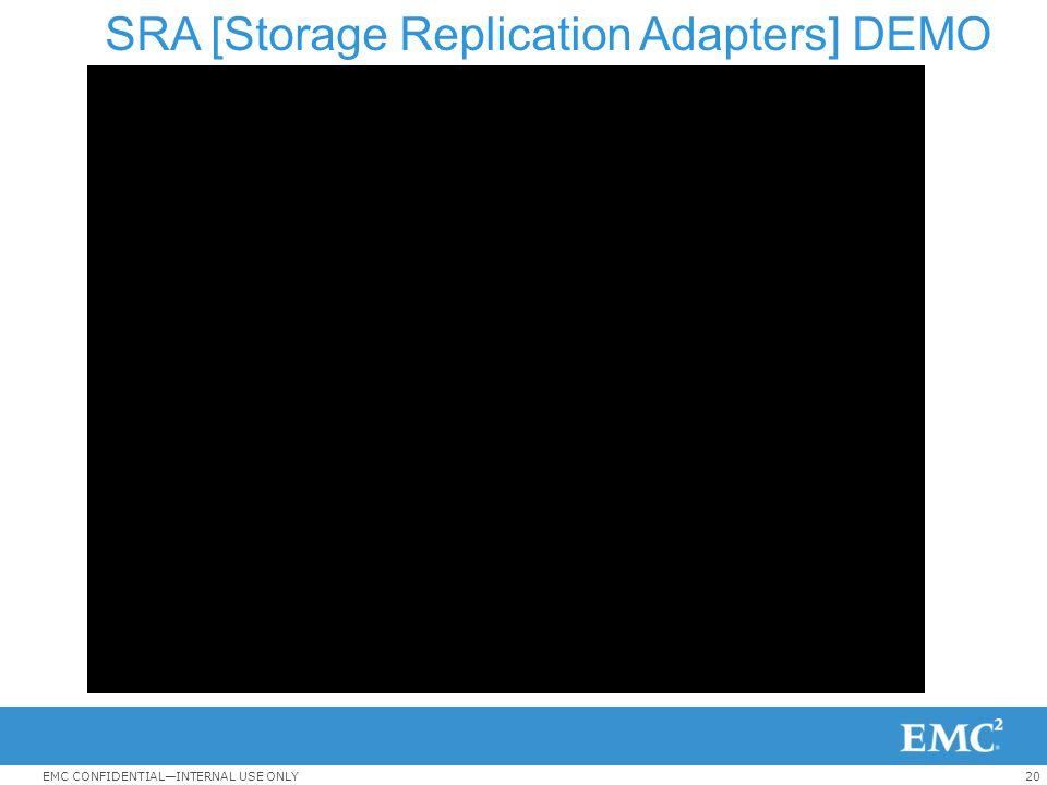 SRA [Storage Replication Adapters] DEMO
